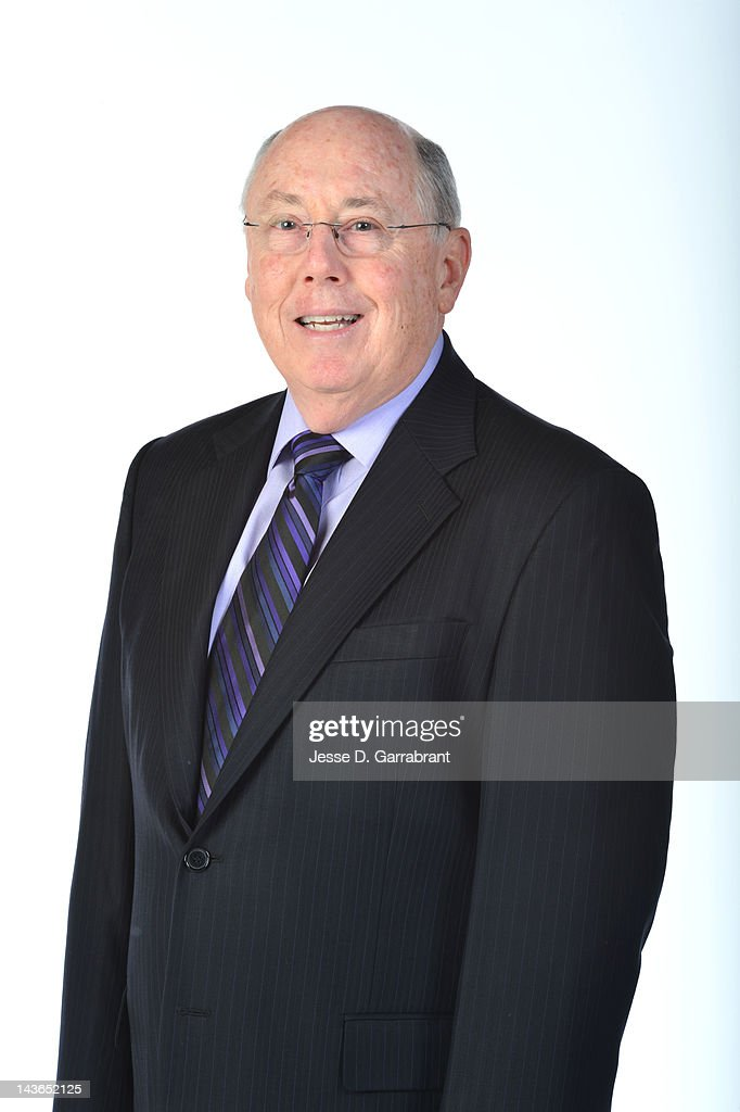 Head Coach <a gi-track='captionPersonalityLinkClicked' href=/galleries/search?phrase=Mike+Thibault&family=editorial&specificpeople=544624 ng-click='$event.stopPropagation()'>Mike Thibault</a> of the Connecticut Sun poses for a portrait during WNBA Media Day on May 1, 2012 at the Mohegan Sun in Uncasville, Connecticut.