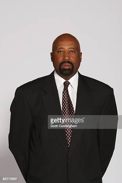 Head coach Mike Woodson of the Atlanta Hawks poses for a portrait during NBA Media Day on September 29 2008 at Philips Arena in Atlanta Georgia NOTE...