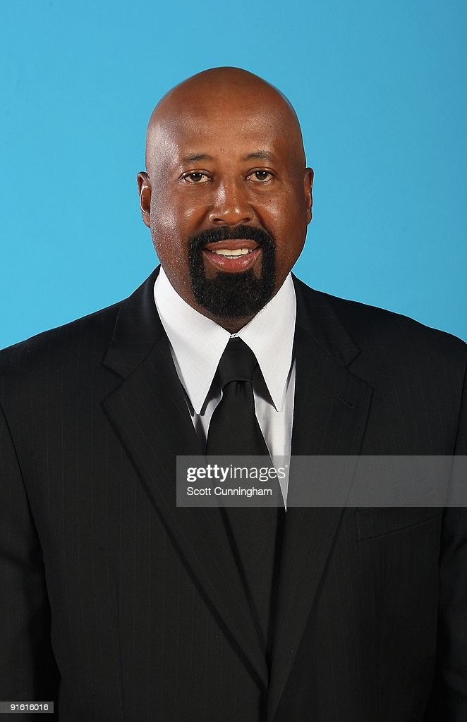 Head coach <a gi-track='captionPersonalityLinkClicked' href=/galleries/search?phrase=Mike+Woodson&family=editorial&specificpeople=213194 ng-click='$event.stopPropagation()'>Mike Woodson</a> of the Atlanta Hawks poses for a portrait during 2009 NBA Media Day on September 28, 2009 at Philips Arena in Atlanta, Georgia.