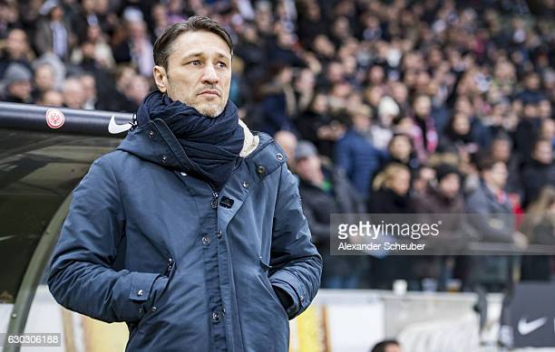 Head coach Niko Kovac of Frankfurt during the Bundesliga match between Eintracht Frankfurt and 1 FSV Mainz 05 at CommerzbankArena on December 20 2016...