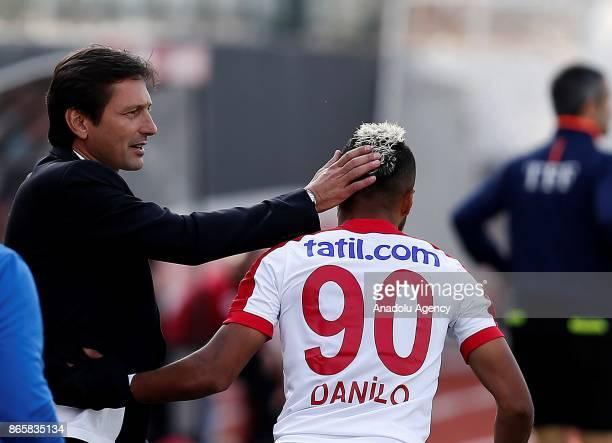 Head coach of Antalyaspor Leonardo is seen during the 4th round of the Ziraat Turkish Cup soccer match between Etimesgut Belediyespor and Antalyaspor...