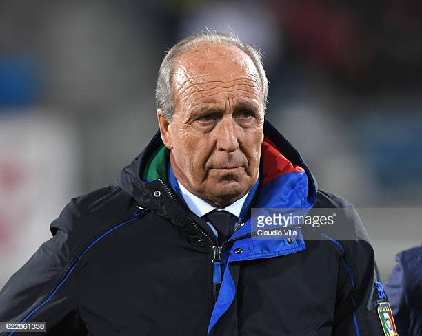 Head coach of Italy Giampiero Ventura during the FIFA World Cup 2018 group G Qualifiers football match between Liechtenstein and Italy at the...