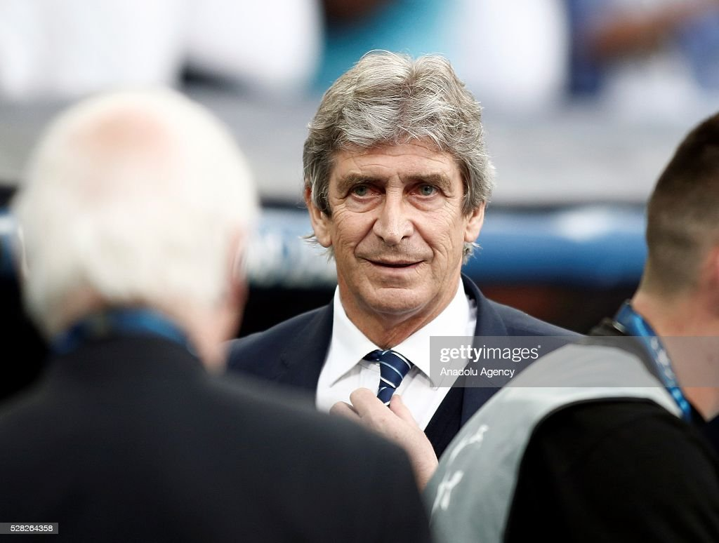 Head coach of Manchester City Manuel Pellegrini is seen during the UEFA Champions League semi-final second leg football match between Real Madrid and Manchester City at the Santiago Bernabeu Stadium in Madrid, Spain on May 4, 2016.