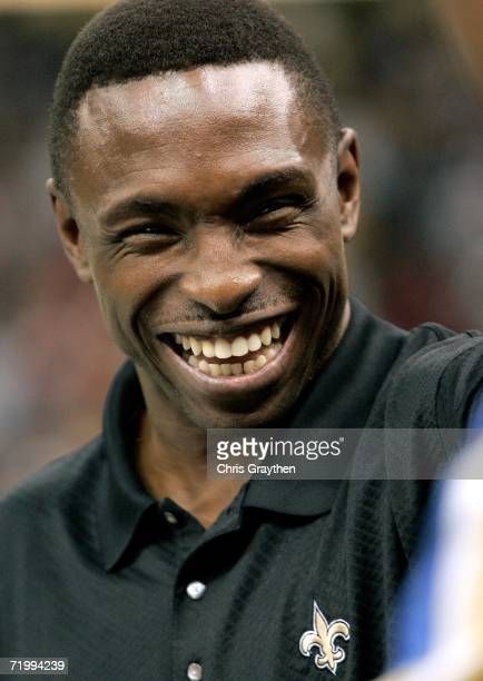 Head Coach of the Dallas Mavericks Avery Johnson attends the Monday Night Football game between the Atlanta Falcons and the New Orleans Saints on...