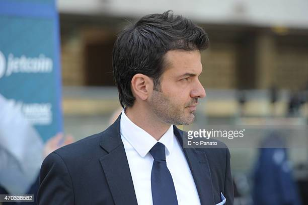 Head coach of Udinese Andrea Stramaccioni looks on during the Serie A match between AC Chievo Verona and Udinese Calcio at Stadio Marc'Antonio...