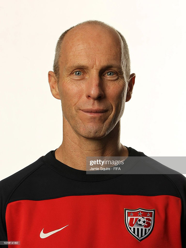 Head Coach of USA Bob Bradley poses during the official FIFA World Cup 2010 portrait session on June 3, 2010 in Centurion, South Africa.