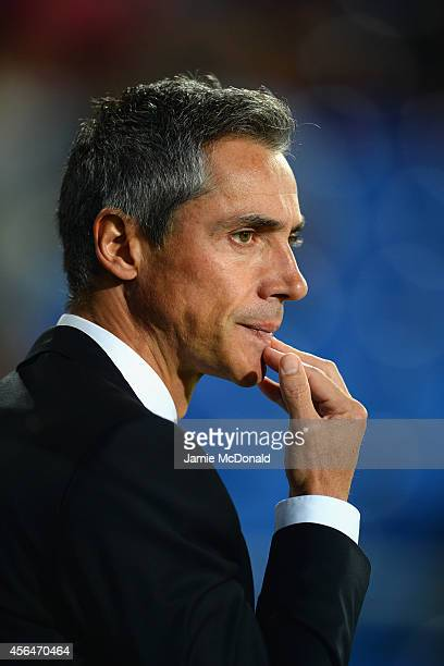 Head Coach Paulo Sousa of FC Basel during the UEFA Champions League Group B match between FC Basel 1893 and Liverpool FC at St Jakob Stadium on...