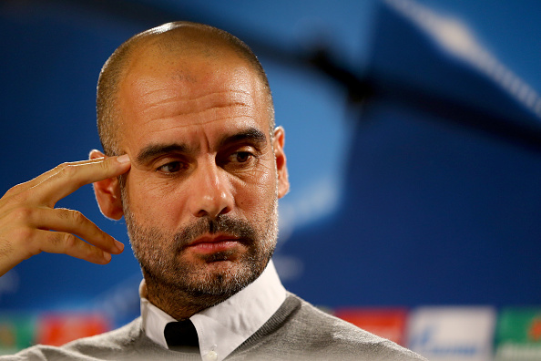 Manchester City - Press Conference : News Photo