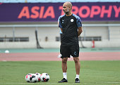 CHN: Premier League Asia Trophy - Manchester City Training Session