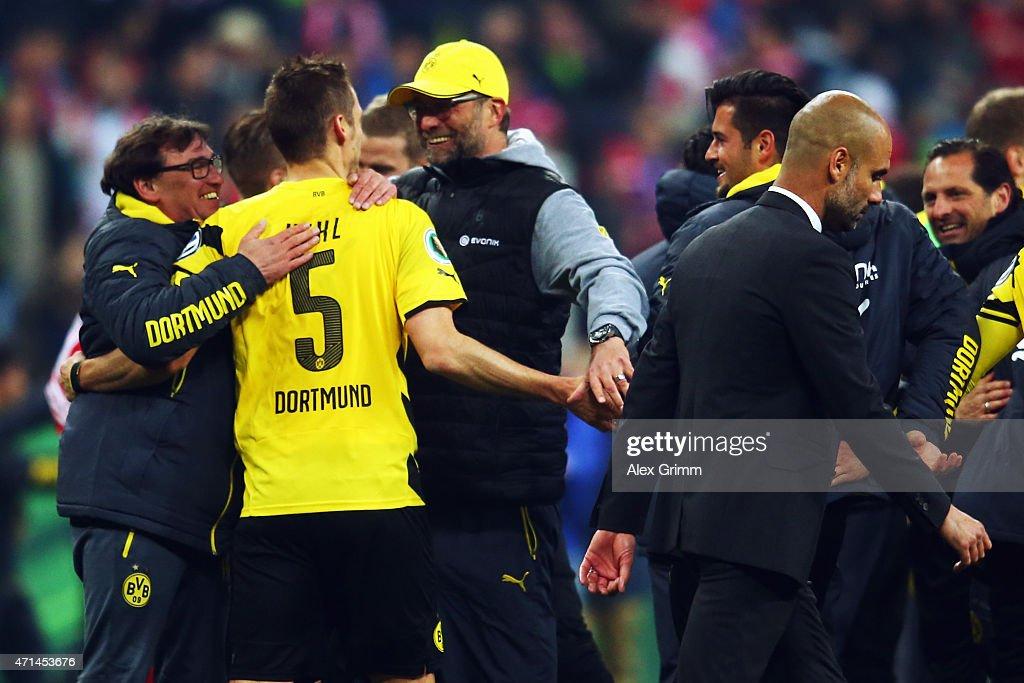 FC Bayern Muenchen v Borussia Dortmund - DFB Cup Semi Final