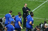 Head coach Philippe SaintAndre of France during the international rugby test match between France and Australia at Stade de France on November 15...