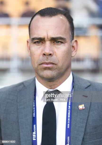 Head coach Rafael Dudamel of Venezuela gestures looks on during the FIFA U20 World Cup Korea Republic 2017 group B match between Mexico and Venezuela...