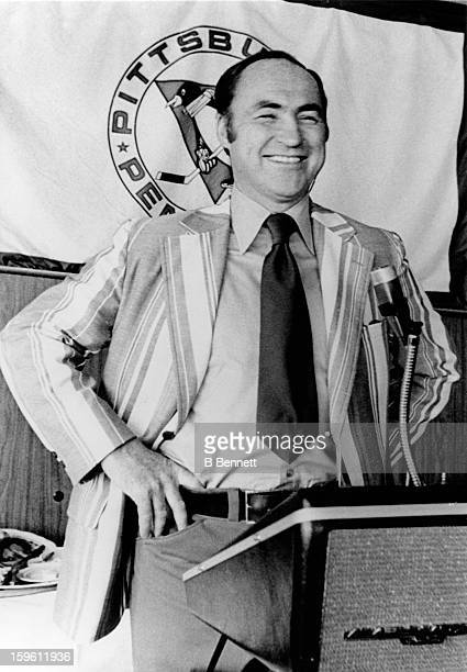 Head coach Red Kelly of the Pittsburgh Penguins poses for a portrait on August 20 1971 in Pittsburgh Pennsylvania