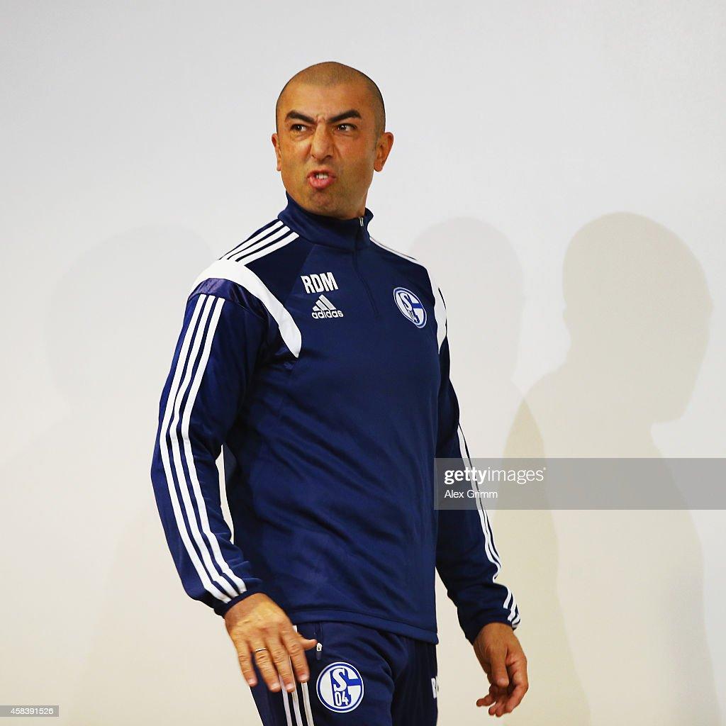 FC Schalke 04 - Training & Press Conference