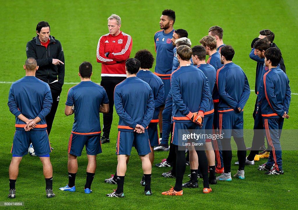 Bayer 04 Leverkusen - Training & Press Conference