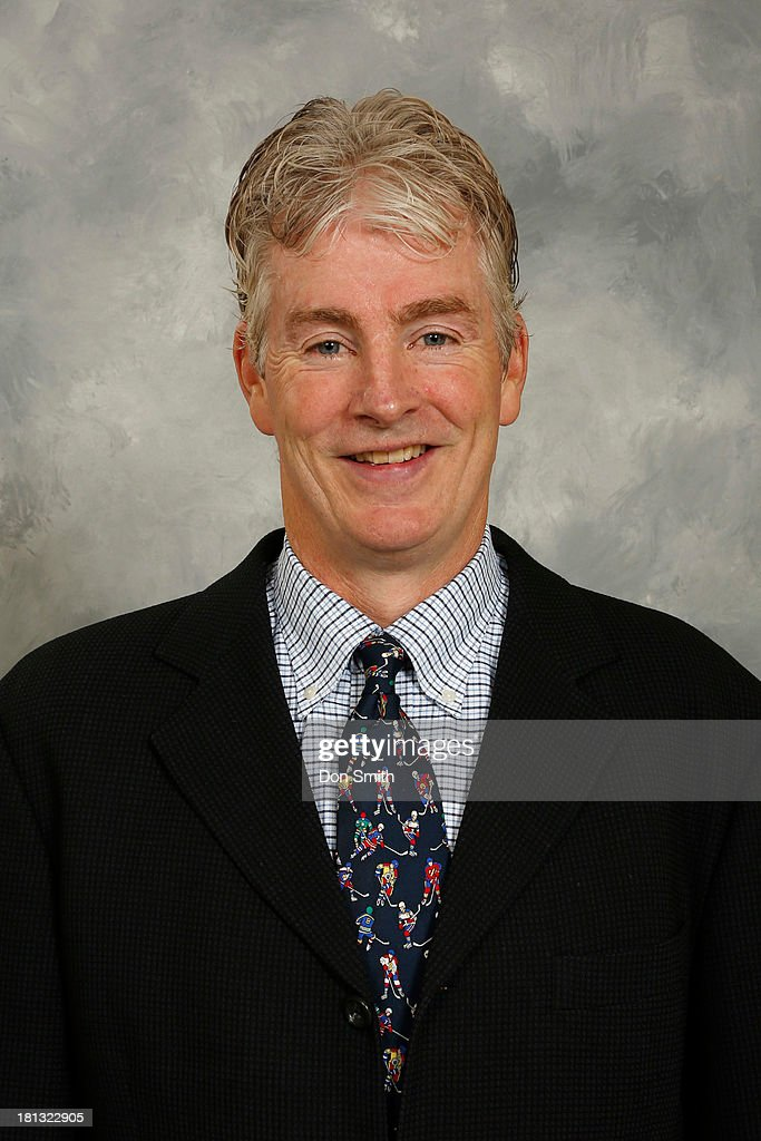 Head Coach Roy Sommer of the San Jose Sharks AHL affiliate Worcester Sharks poses for his official headshot for the 2013-14 season on September 11, 2013 at SAP Center in San Jose, California.