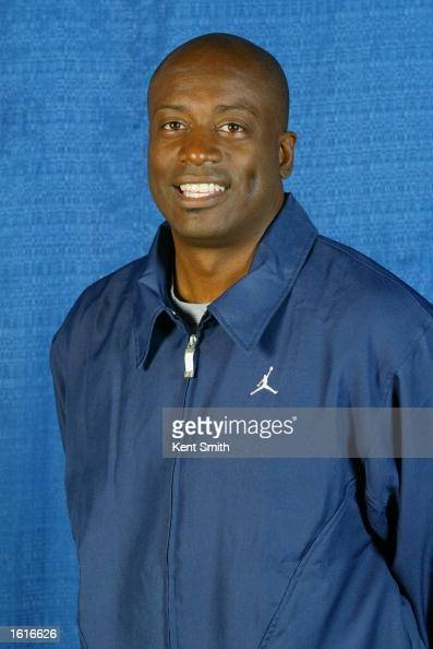 Head coach Sam Vincent of the Mobile Revelers poses for a studio portrait during Revelers Media Day on November 6 2002 in Mobile Alabama NOTE TO USER...