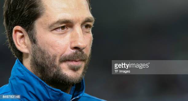Head coach Sandro Schwarz of Mainz looks on during the Bundesliga match between FC Bayern Muenchen and 1 FSV Mainz 05 at Allianz Arena on September...