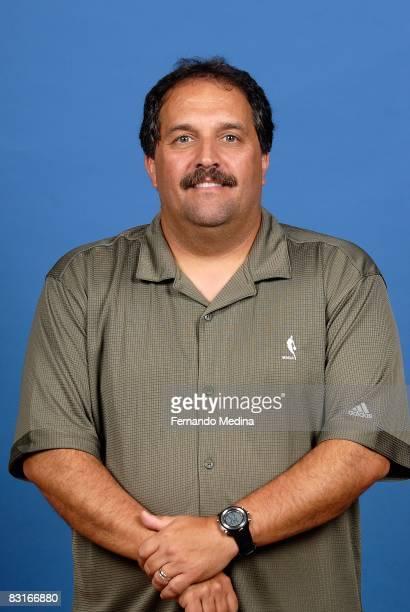 Head coach Stan Van Gundy of the Orlando Magic poses for a portrait on NBA Media Day on September 29 2008 at the RDV Sportsplex in Maitland Florida...