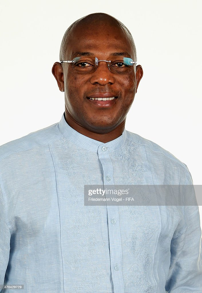 Head coach Stephen Okechukwu Keshi of Nigeria poses during the FIFA Team Workshop for the 2014 FIFA World Cup Brazil on February 19, 2014 in Florianopolis, Brazil.