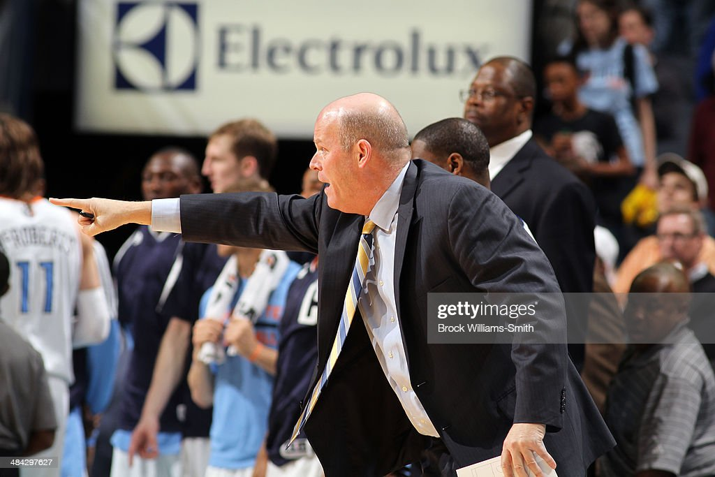Head coach Steve Clifford of the Charlotte Bobcats during a game against the Washington Wizards at the Time Warner Cable Arena on March 31, 2014 in Charlotte, North Carolina.