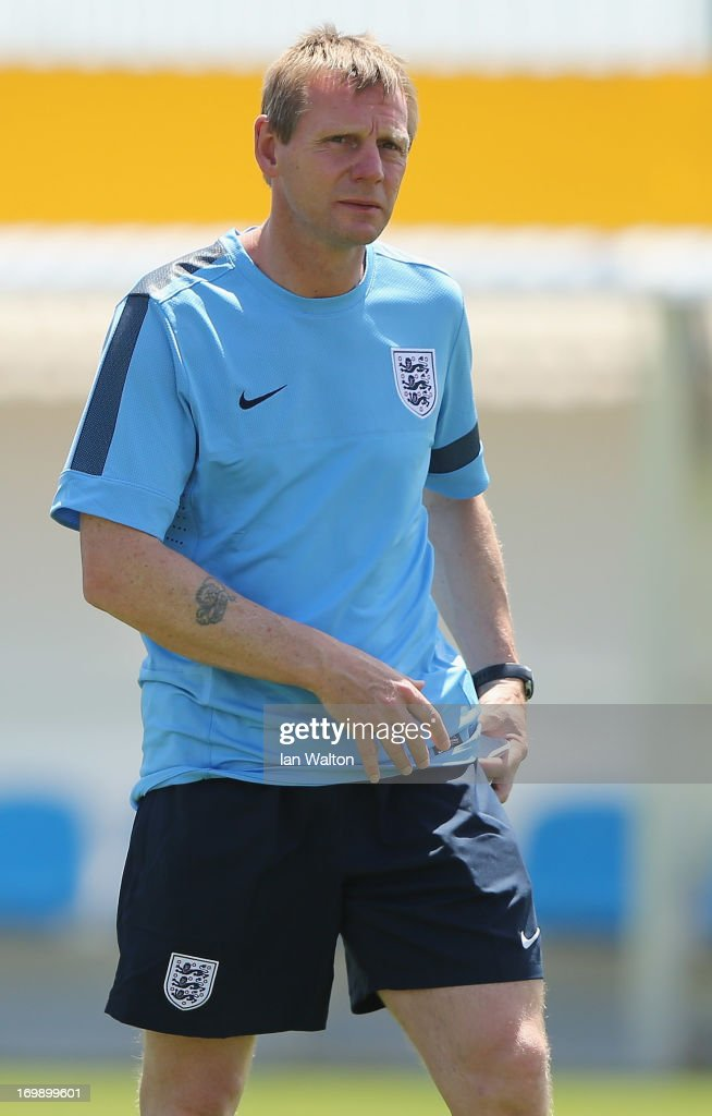 England Training and Press Conference - UEFA European U21 Championships
