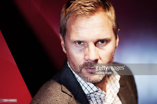 Head coach Thorsten Fink of Hamburger SV poses during a portrait session on January 30 2012 in Hamburg Germany