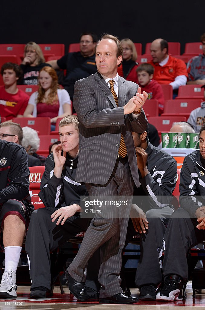 Head coach Todd Howard of the IUPUI Jaguars watches the game against the Maryland Terrapins at the Comcast Center on January 1, 2013 in College Park, Maryland.