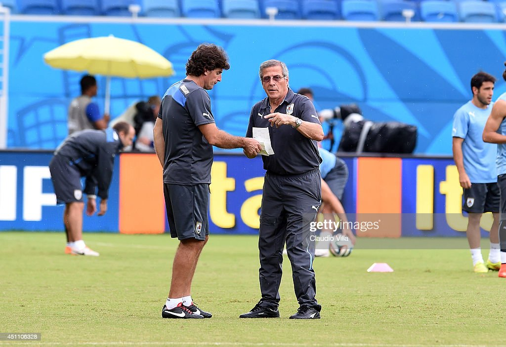 Uruguay Training & Press Conference - 2014 FIFA World Cup