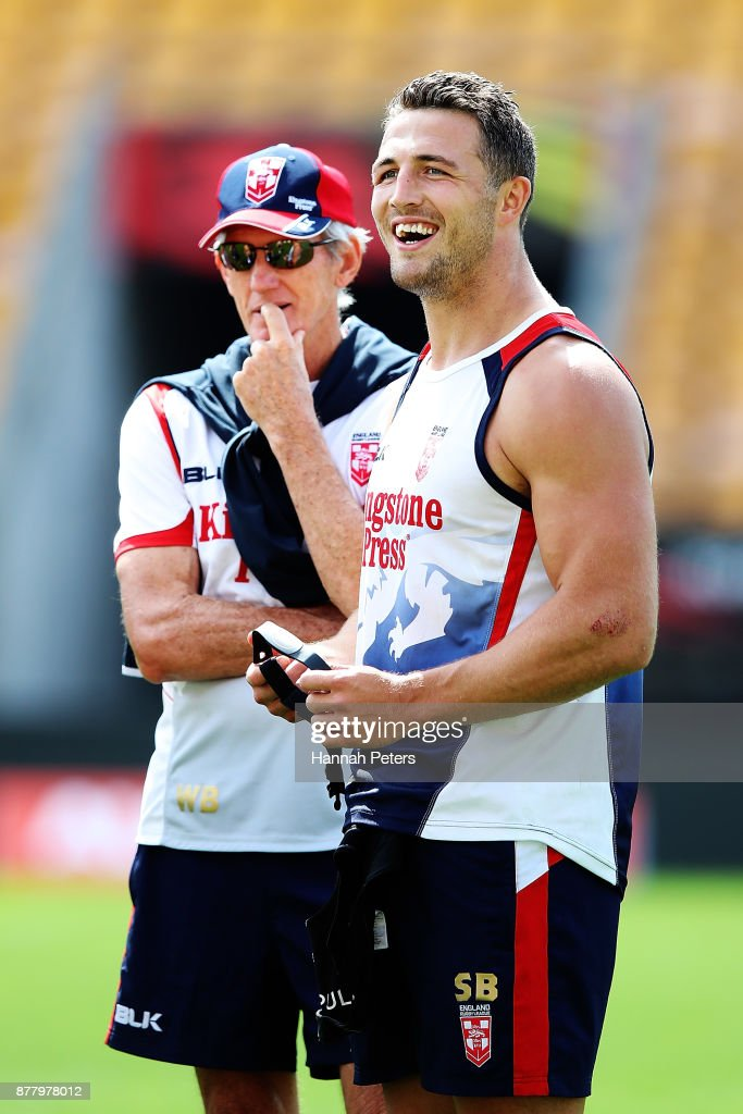 England Captain's Run