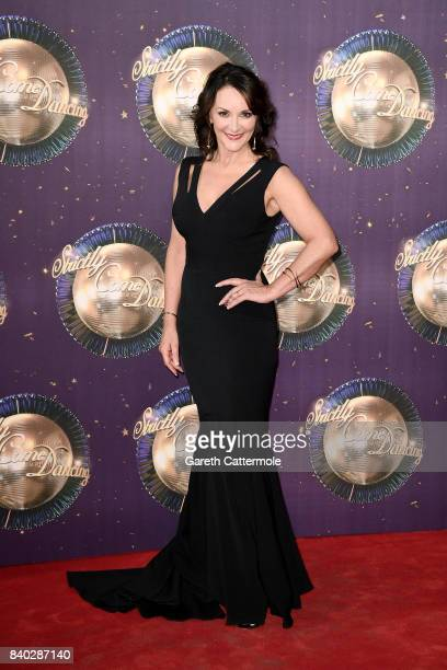 Head Judge Shirley Ballas attends the 'Strictly Come Dancing 2017' red carpet launch at The Piazza on August 28 2017 in London England