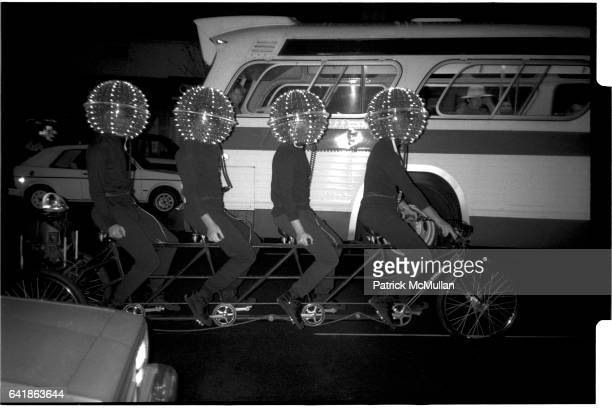 Head Lights' outside after the Robert Mapplethorpe opening at the Whitney Museum of American Art Wednesday July 27 1988