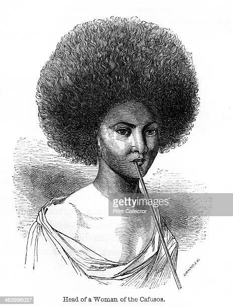 'Head of a Woman of the Cafusos' 1848 Cafuso is a derogatory term which meant the offspring of an African and an Indian or a very darkskinned nearly...