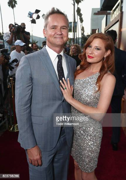 Head of Amazon Studios Roy Price and Lila Feinberg at the Amazon Prime Video premiere of the original drama series 'The Last Tycoon' at Harmony Gold...