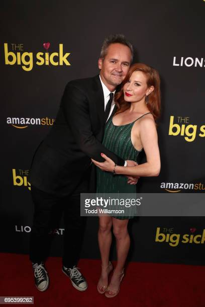 Head of Amazon Studios Roy Price and Lila Feinberg attend Amazon Studios And Lionsgate Present The LA Premiere Of 'THE BIG SICK' at the ArcLight...