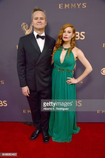 Head of Amazon Studios Roy Price and Lila Feinberg attend the 69th Annual Primetime Emmy Awards at Microsoft Theater on September 17 2017 in Los...
