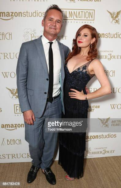 Head of Amazon Studios Roy Price and Lila Feinberg attend the 'Wonderstruck' Cannes After Party on May 18 2017 in Cannes