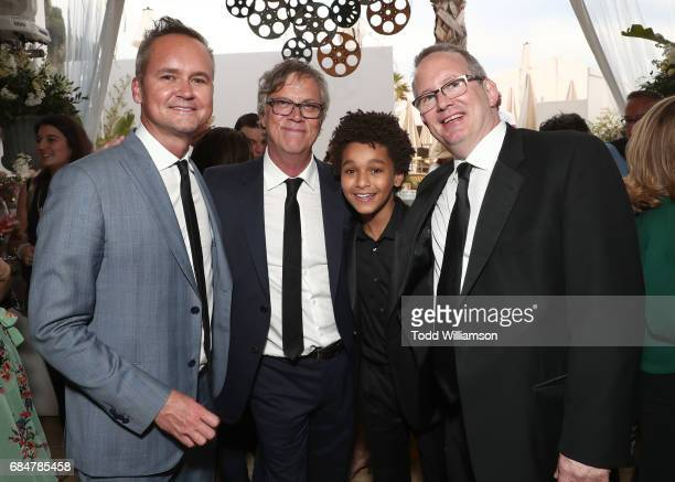 Head of Amazon Studios Roy Price Director Todd Haynes Jaden Michael and Amazon Head of Motion Picture Production Ted Hope attend the 'Wonderstruck'...