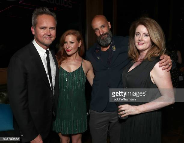Head of Amazon Studios Roy Price Lila Feinberg Amazon Studios' Worldwide Head of Motion Pictures Jason Ropell and Jane Ropell attend The LA Premiere...