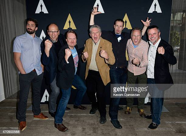 Head of animation Zach Parrish producer Roy Conli director Don Hall Academy governor Bill Kroyer director Chris Williams director of cinematography...