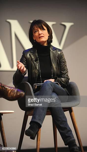 Head of Building 8 at Facebook Regina Dugan speaks onstage during the Fast Company Innovation Festival 2016 Melinda Gates Facebook's Regina Dugan at...