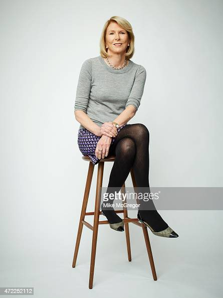 Head of Built by Girls fund Susan Lyne is photographed for Fortune Magazine on October 22 2013 in New York City