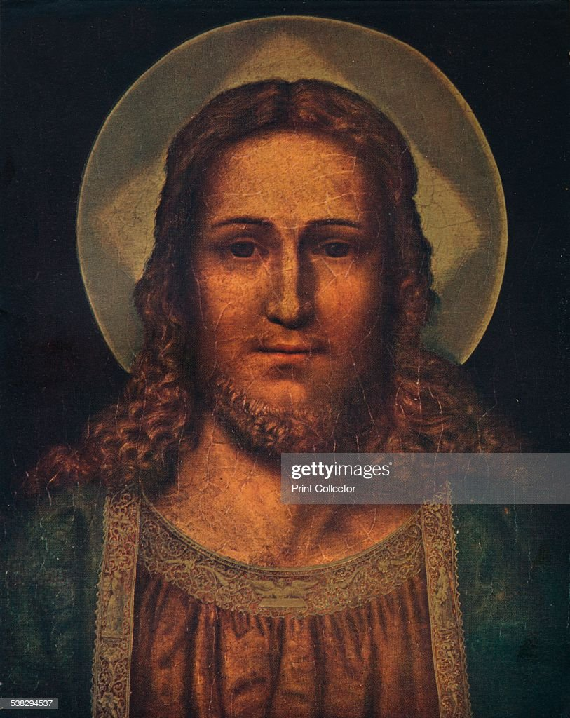 Head of Christ, c15th century. From The Connoisseur Vol XL [Otto Limited, London, 1905.] Artist: Quentin Metsys I