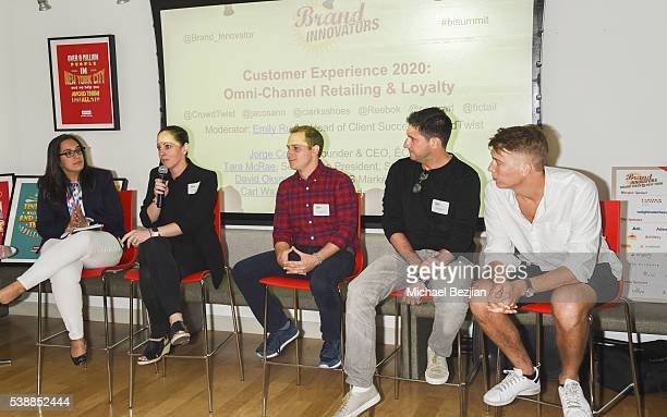Head of Client Success at Crowd Twist Emily Rudin SVP Strategy at Clarks Tara McRae Head of US Marketing for Reebok David Oksman CEO COLE Jorge...