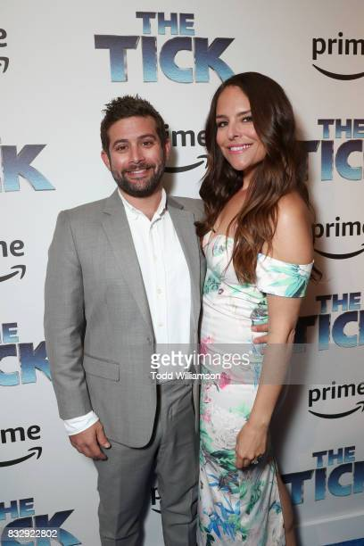 Head of Comedy and Drama for Amazon Studios Joe Lewis and Yara Martinez attend the blue carpet premiere of Amazon Prime Video original series 'The...