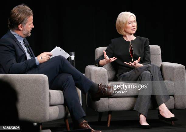 Head of Editorial on WIRED Robert Capps interviews Technology CoInventor CRISPRCAS9 Jennifer Doudna onstage at WIRED Business Conference Presented By...