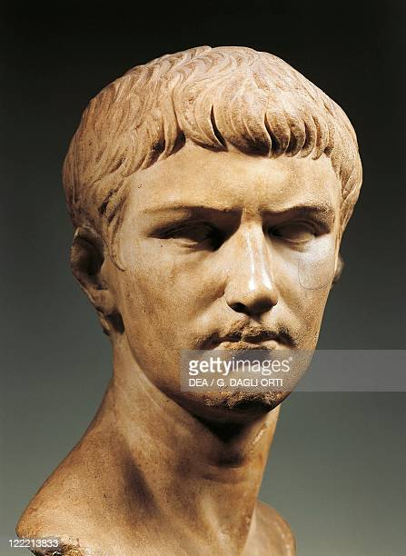 Head of Emperor Caligula imperial age JulioClaudian dynasty marble