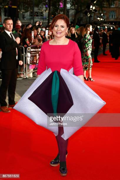 Head of Festivals Clare Stewart attends the European Premiere of 'Breathe' on the opening night gala of the 61st BFI London Film Festival on October...
