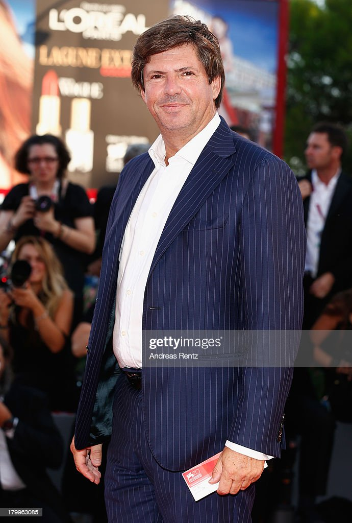 Head of Fiat Brand e Chief Marketing Officer Olivier Francois attends the Closing Ceremony during the 70th Venice International Film Festival at the Palazzo del Cinema on September 7, 2013 in Venice, Italy.