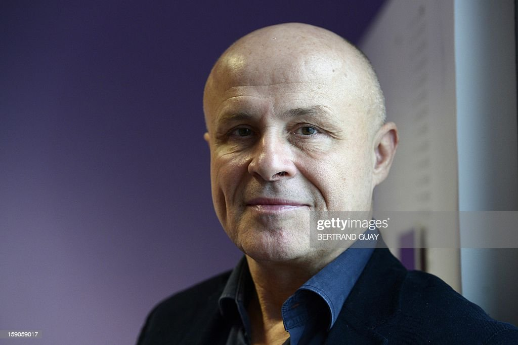 Head of French public radio station 'France Culture' Olivier Poivre d'Arvor poses on January 7, 2013 in Paris. AFP PHOTO/ BERTRAND GUAY